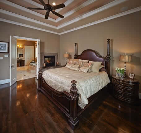 Jamestown Estate Homes - Custom Bedrooms