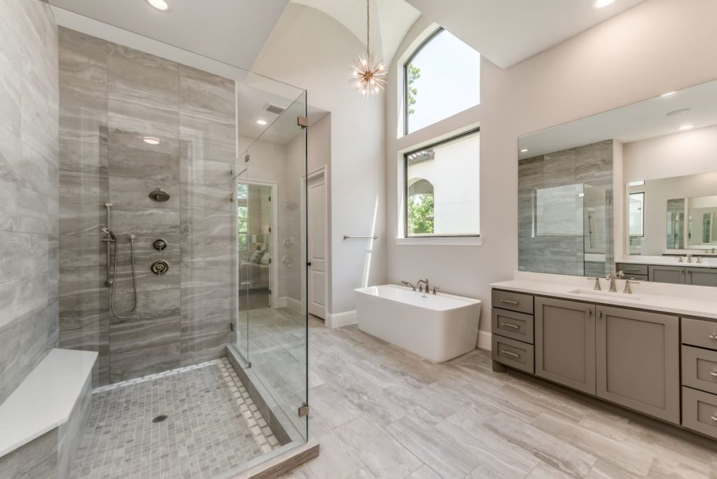 9307 Fox Bend master bath