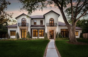 Spanish Colonial Custom Home in Bunker Hill Village