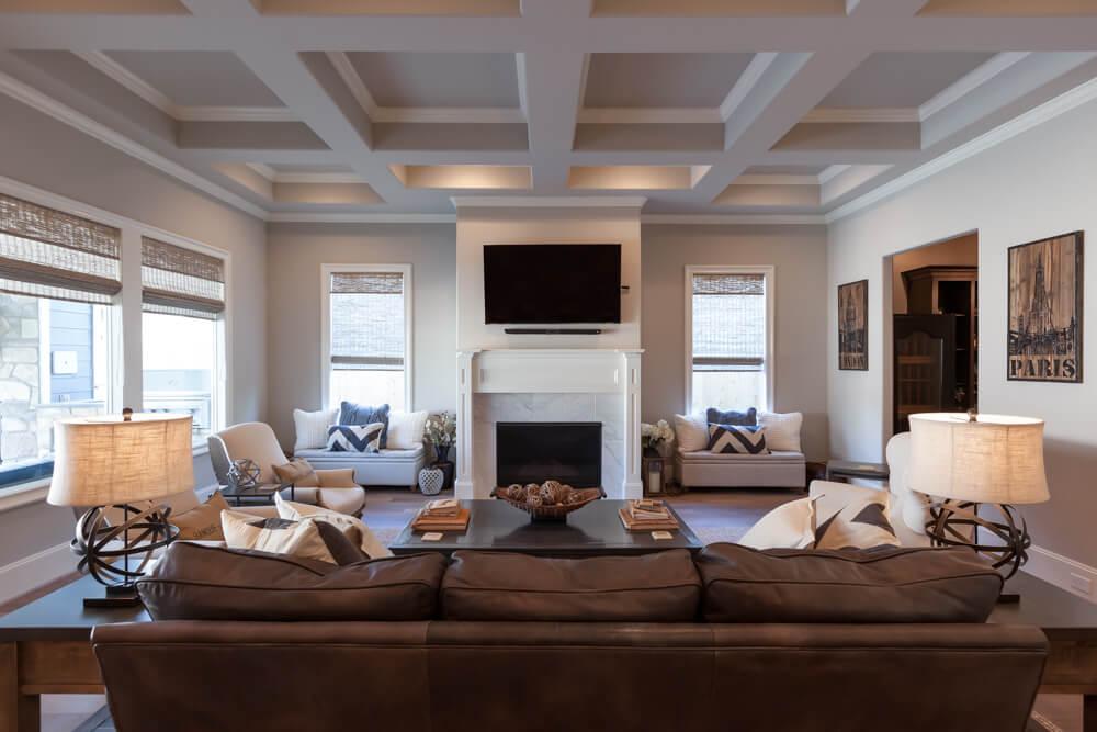Jamestown Estate Custom Homes - Gathering Rooms