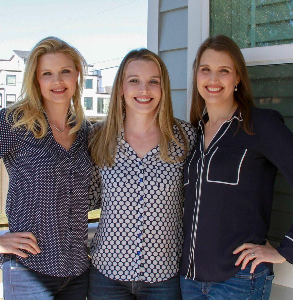 Sisters Elizabeth, Victoria, and Katy.