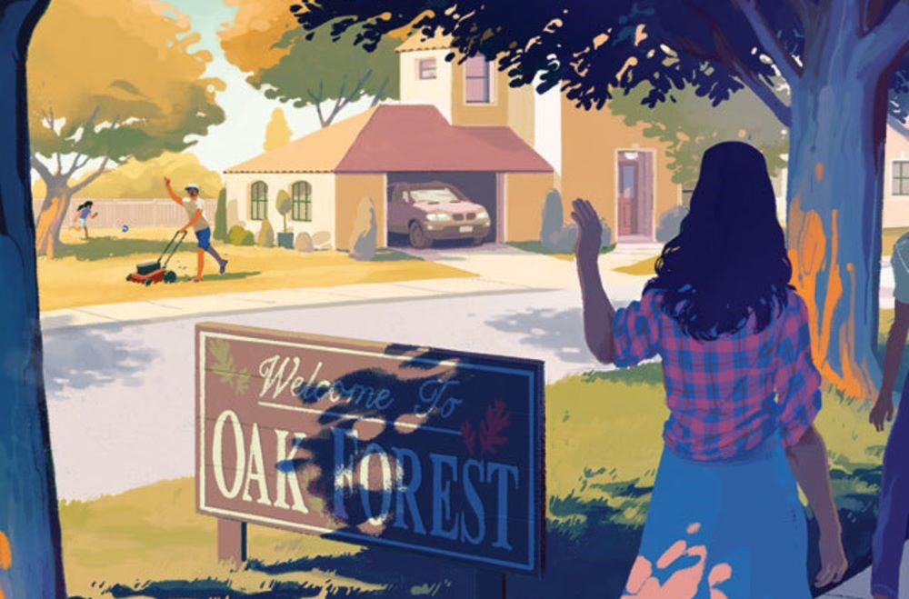 Oak Forest illustration